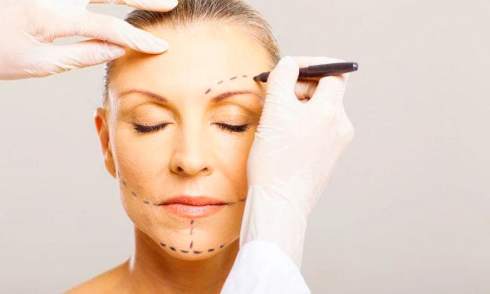 Разметка кожи перед процедурой