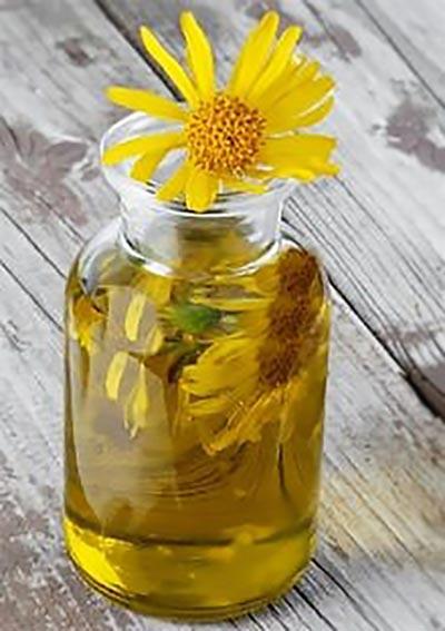 Эфиррное масло в арнике