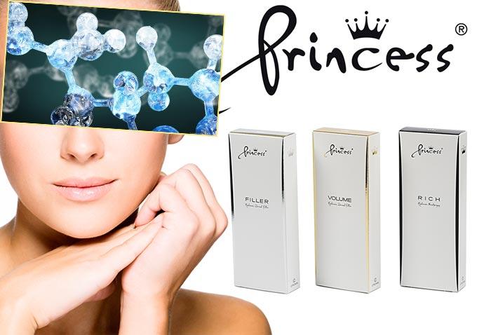 Филлеры Принцесс и гиалуроновая кислота