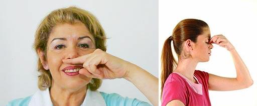 Корректирующие упражнения для носа