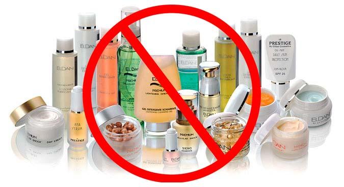 Не рекомендуется использование косметических средств после дермабразии