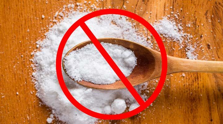 Нельзя употреблять соль за 2 недели до липосакции