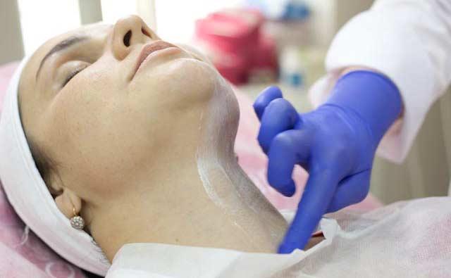Анестезия в процессе лазерной терапии
