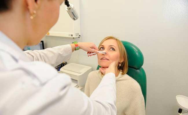Консультация ЛОР - врача перед эндоскопической септопластикой