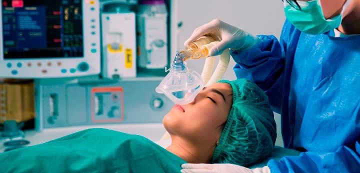 НАркоз во время эндоскопической септопластики