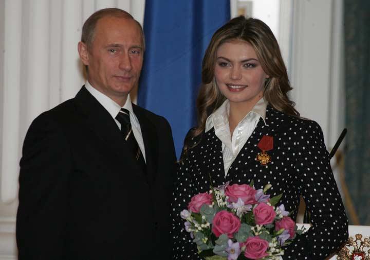 Путин и Алина Кабаева
