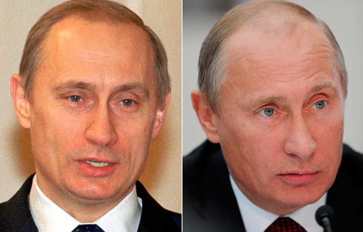 Брови Путина