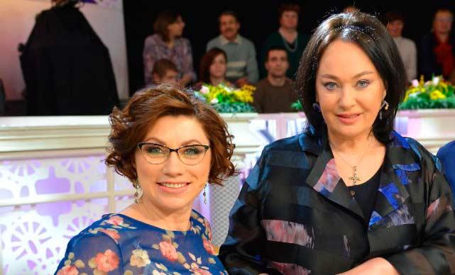 Роза Сябитова и Лариса Гузеева