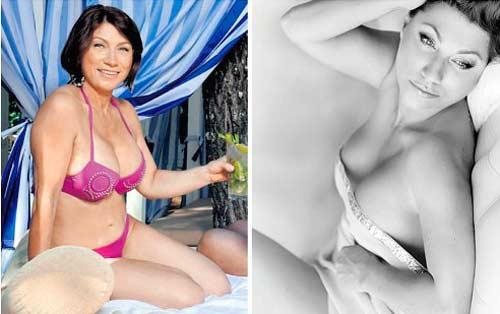 Роза Сябитова в купальнике