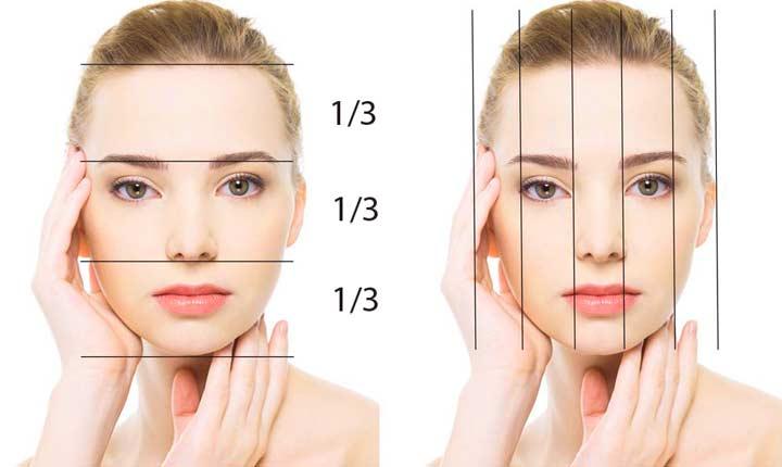 Симетрия лица