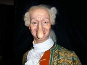 Самый длинный нос. 1770 год