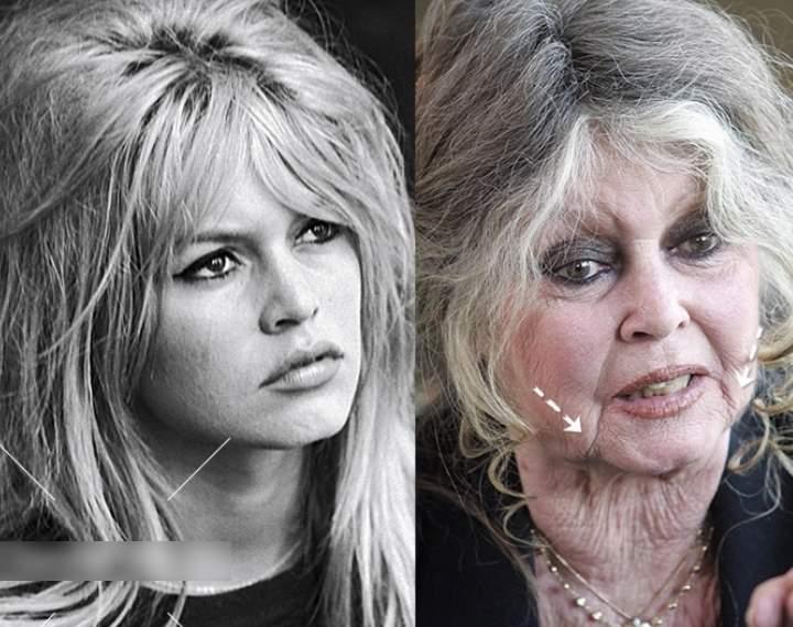 Актриса молодая и в старости