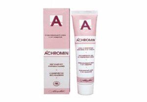 Средство от пигментных пятен на лице - Ахромин