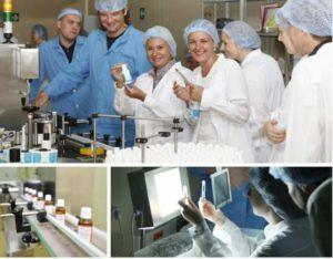 Сотрудники лаборатории Тоскани