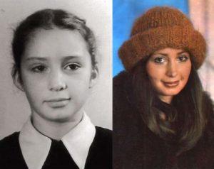 Детство и юность актрисы Васильевой