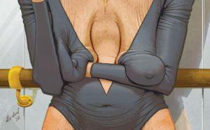 Комикс про висячую грудь