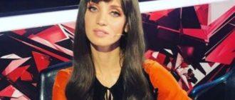 Татьяна Денисова в оранжевом