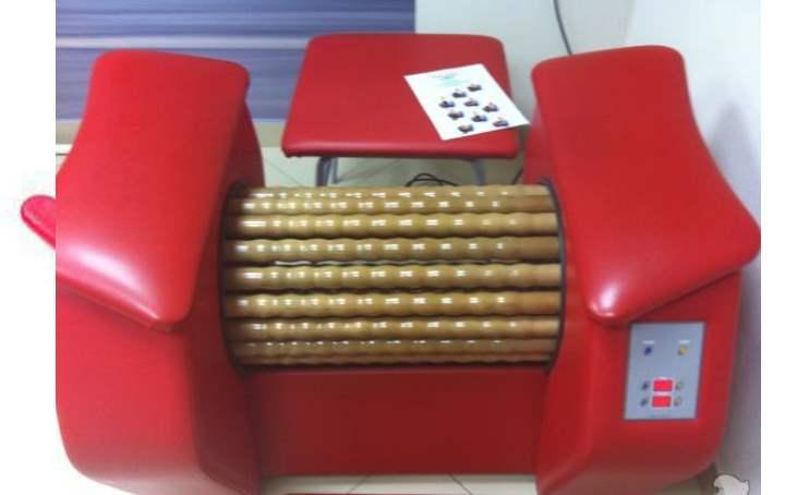 Ролик от целлюлита - большое кресло