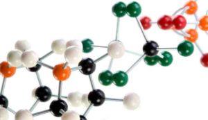 Цепь молекул