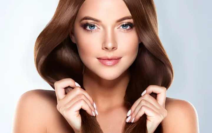 Окрашивающий состав не пропитывает глубокие слои волос