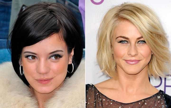 Причёска классический боб имеет сходство с каре