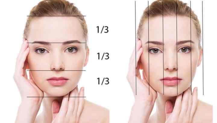 - дробление значения ширины ротовой полости на значение ширины носа уравнивается к значению 1, 618;